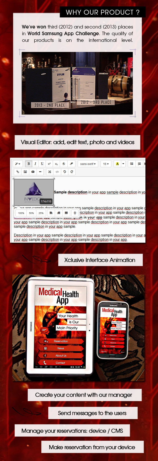 Medical Health App With CMS - Android - 3