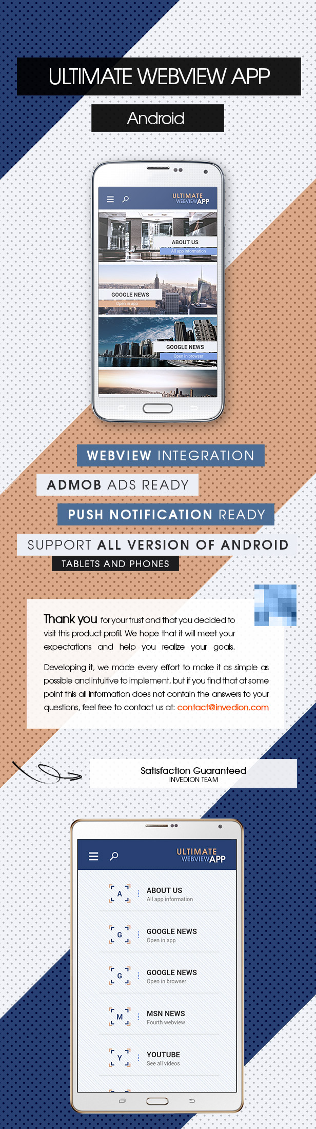Ultimate Webview App - Android [ AdMob & Push Notifications ] - 2