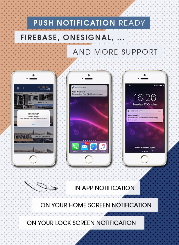 Ultimate Webview App - iOS [ AdMob & Push Notifications ] - 5